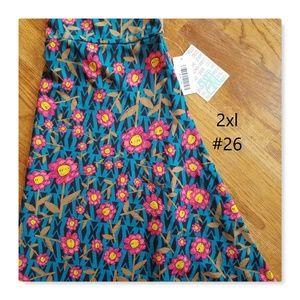 LuLaRoe Azure skirt NWT perfect for spring